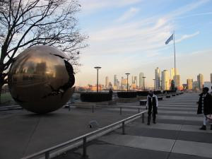 United Nations Plaza: Blick auf Brooklyn